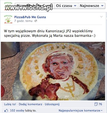 Papieska pizza