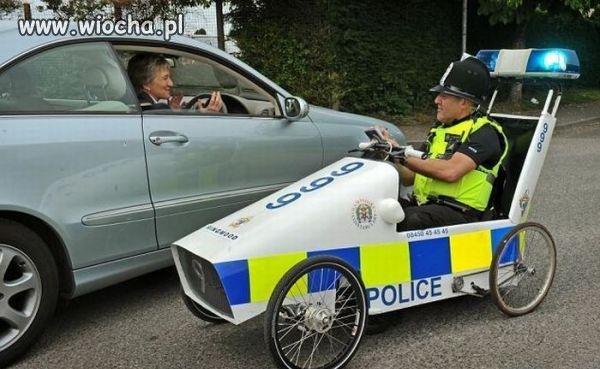 Nowe pojazdy dla policji w Wielkiej Brytani