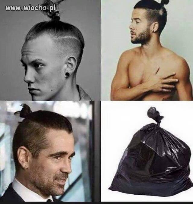 Moda ala worek śmieci