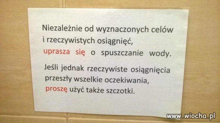 WC informacja.