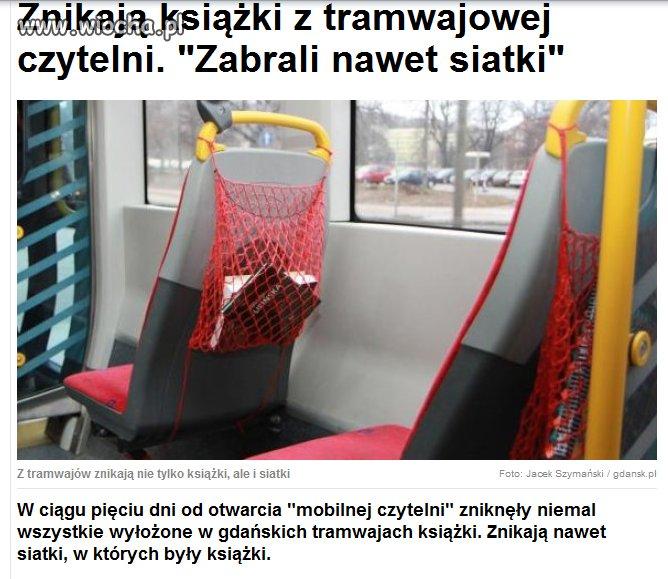 Gdańska akcja miała być promocją czytelnictwa ...