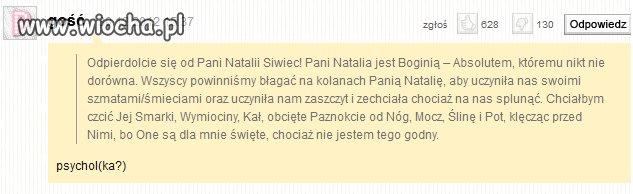 Natalia Siwiec jako nasza bogini...