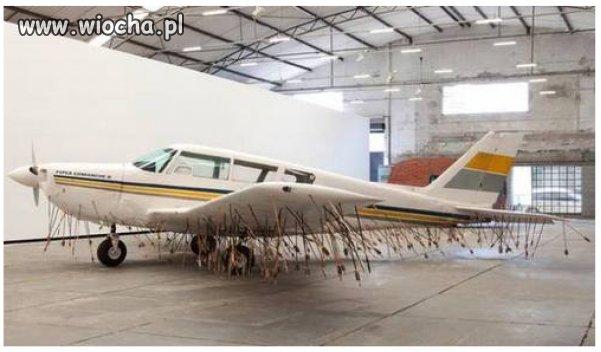 To był niski lot nad Amazonką