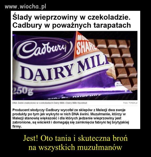 Wieprzowina w czekoladzie.