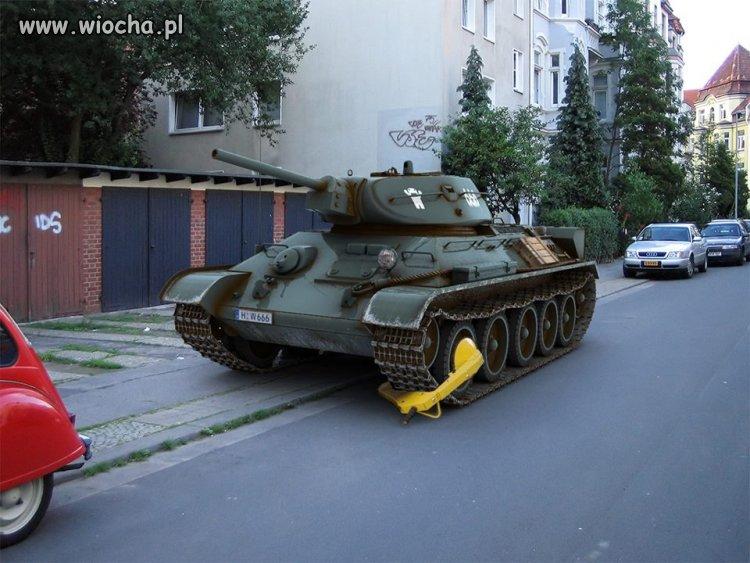 Źle zaparkował???