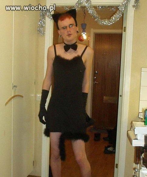 Rudy przed wyjściem na bal