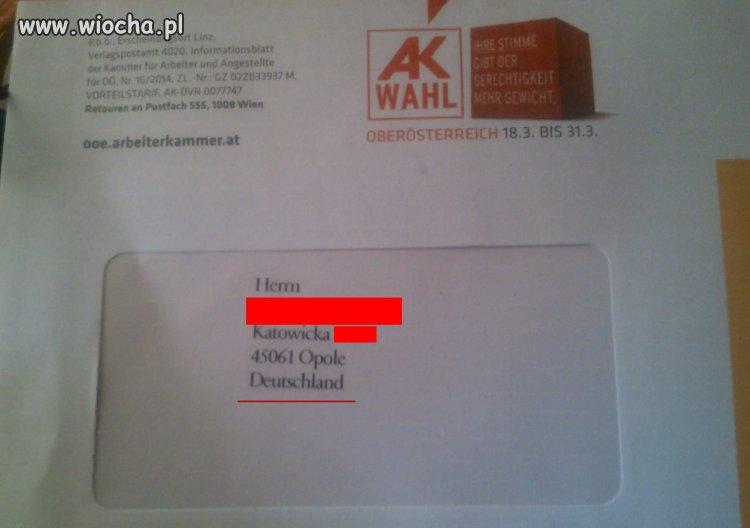 List z Austrii