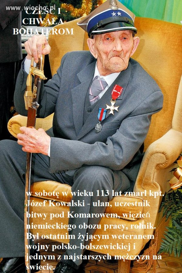 Józef Kowalski. Bohater walczący o Wolną Polskę