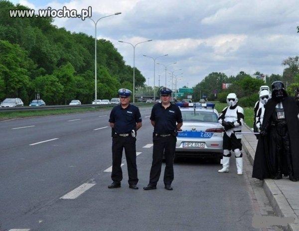 Polska drogówka...