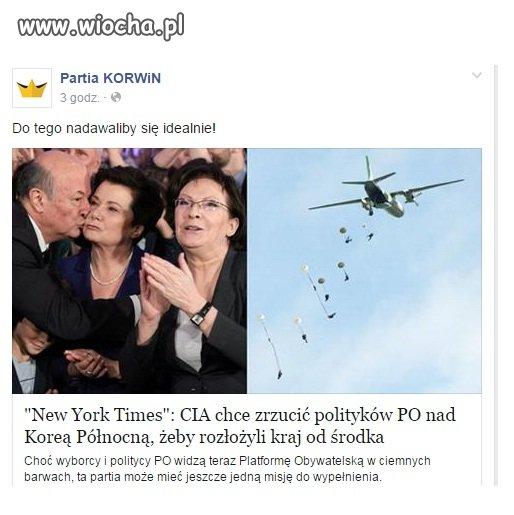 Politycy PO w tajnej misji CIA