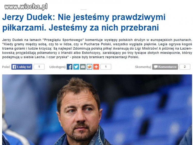 Cała prawda o polskiej piłce...przebierańcy