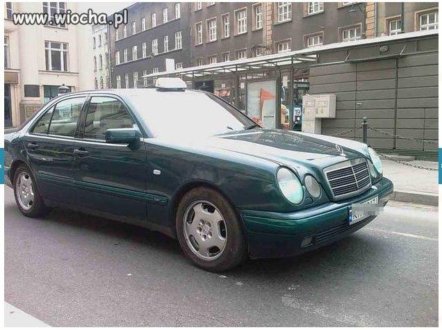 Polak potrafi   -   fałszywa taksówka.