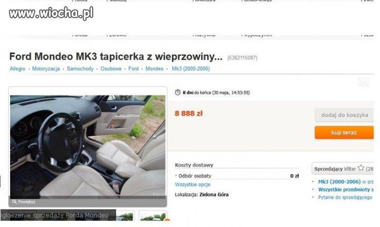 Samochód dla Ahmeda...