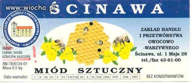 Sztuczne pszczoły w sztucznym miodzie