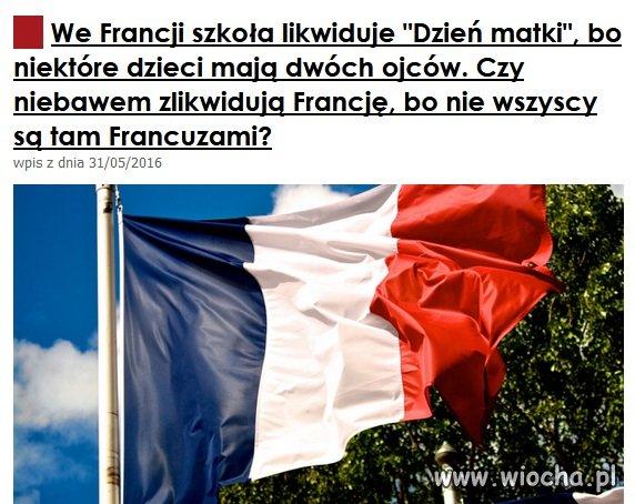 Całkowity upadek Francji jest już bardzo bliski