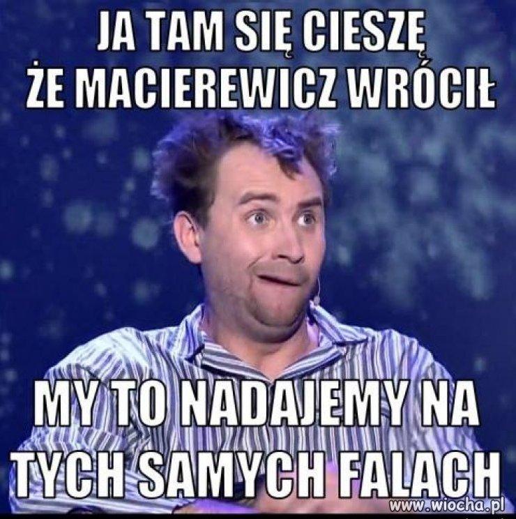 Macierewicz to jednak konkurencja dla kabaretów