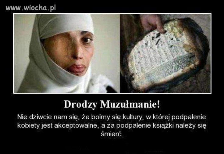 Drodzy Muzułmanie!