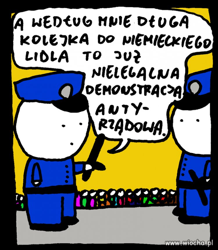 Demonstracja ?
