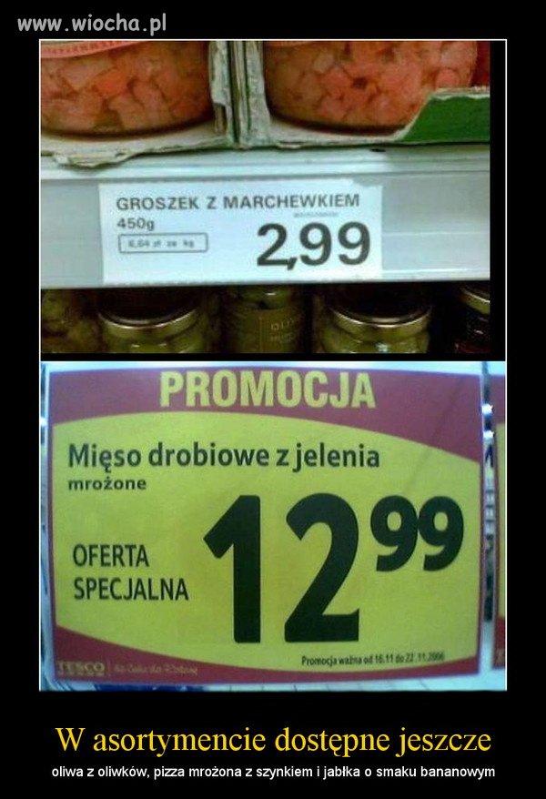 Tymczasem w supermarkecie Tesco