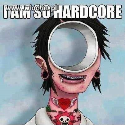 Tak właśnie widzę piercing