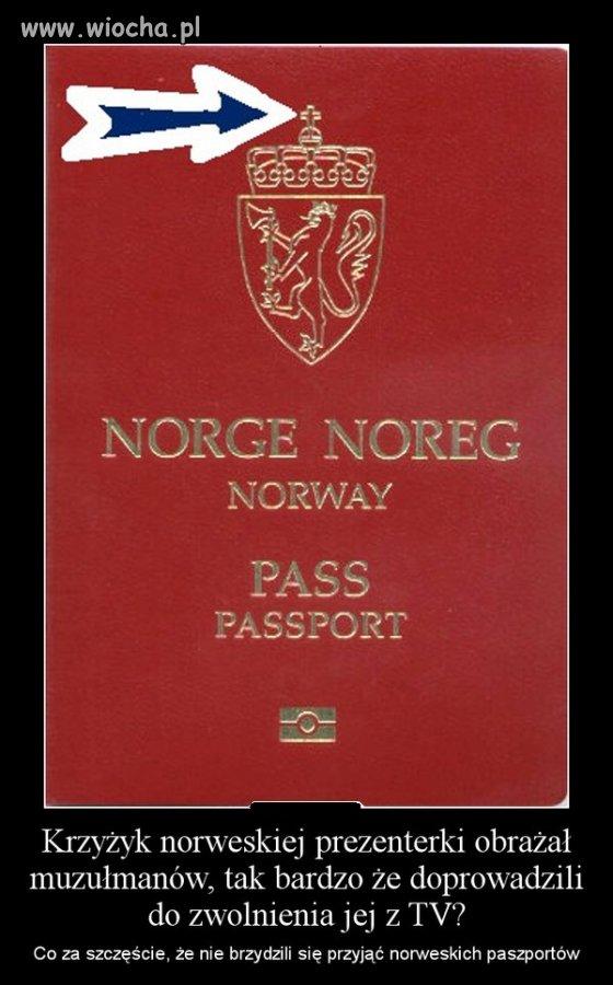 Może niech paszporty wymienią