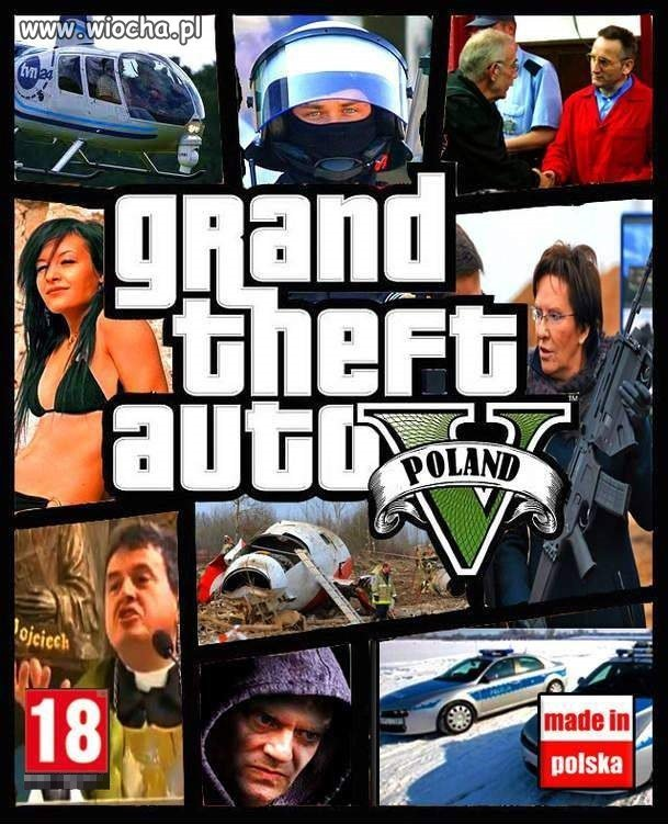 GTA 5 Made in Poland