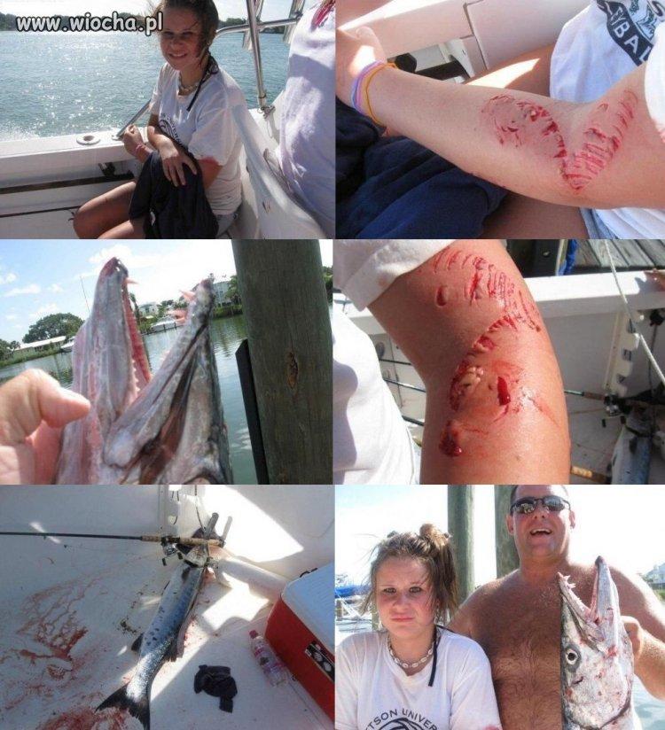 Idź na ryby z tatą mówili...