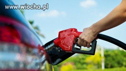 Cena paliwa w górę, ja o tym nie zapomnę