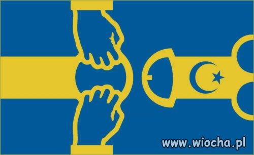 Nowa flaga Szwecji