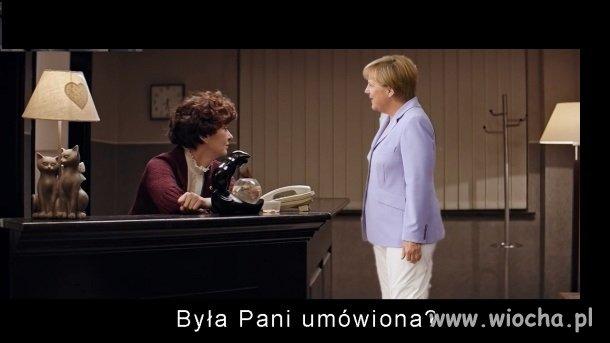 Merkel u prezesa specjalnej troski