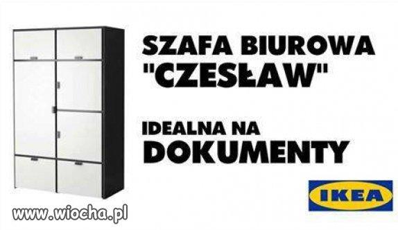 Ikea jest na czasie.