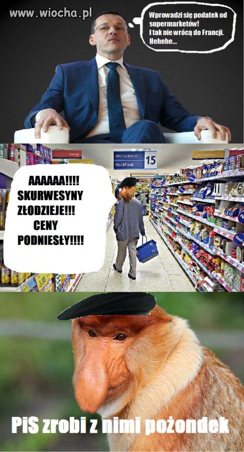Janusz na zakupach uniesiony wysokimi cenami!