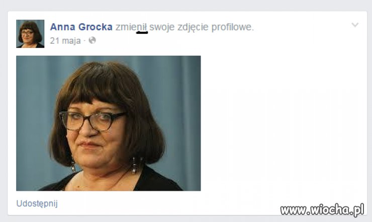 Anna Grocka zmienił zdjęcie profilowe