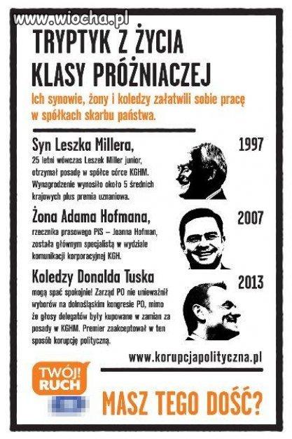 Palikotowi nie pozwolili tego powiesić w Warszawie