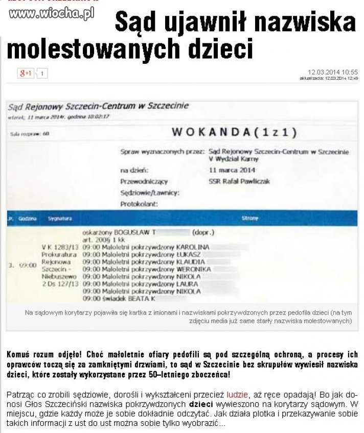 Polskie sądy...