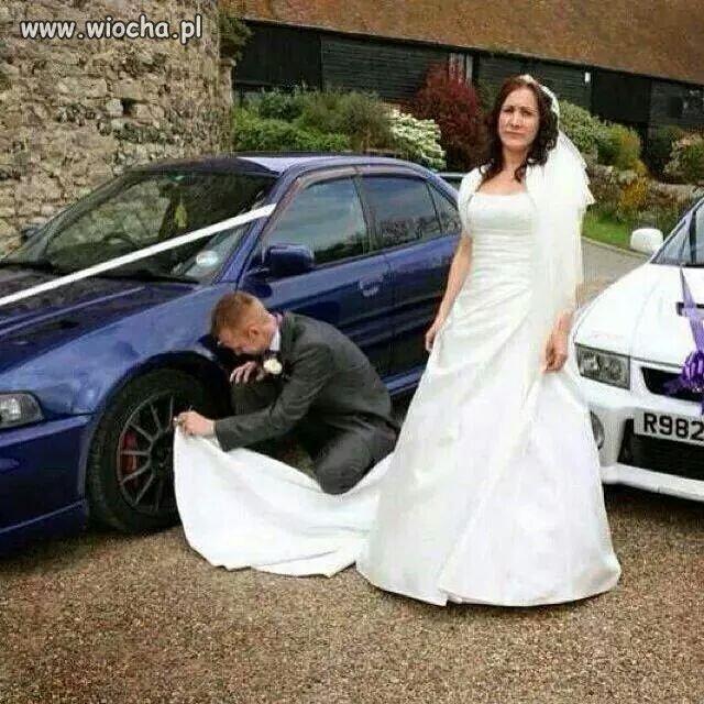 Samochód ważniejszy ...