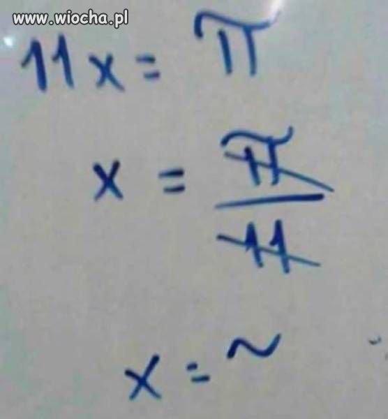 Wyższa matematyka dla wtajemniczonych