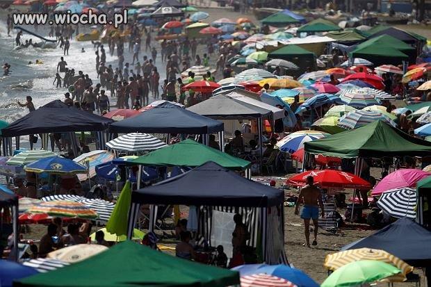 Parawaning po hiszpańsku...jak duży bazar