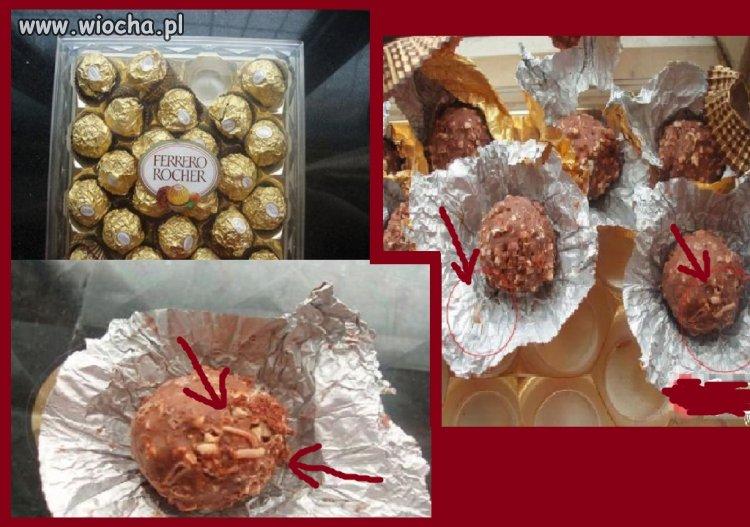 Ferrero...zrodzone z miłości, czekolady i z robaków.