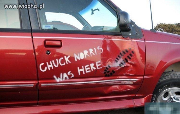 Chuck Norris tu był!
