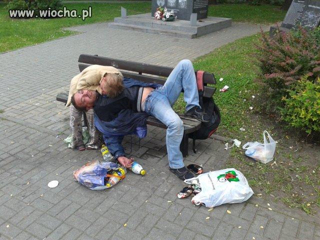 Para po zakupach w Biedronce