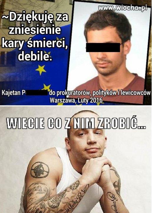 Polski Hannibal Lecter wyśmiewa sądy