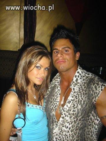 Fred Flintstone z żoną