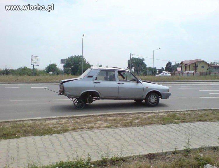 "Dacia na ""dojazdówce"""