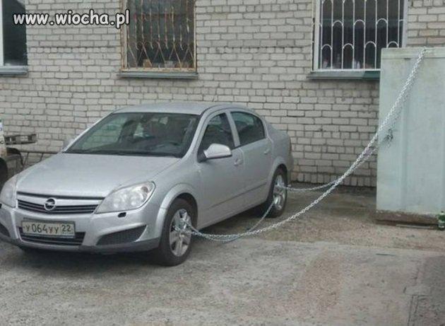 Zabezpieczenie auta