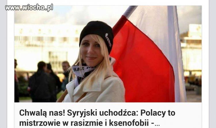 Brawo wreszcie kto� Polsk� pochwali�.