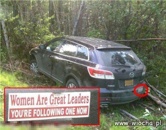 Kobiety są wspaniałymi przywódczyniami.