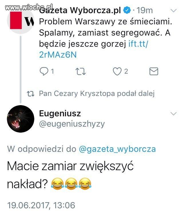 Eugeniusz zaorał