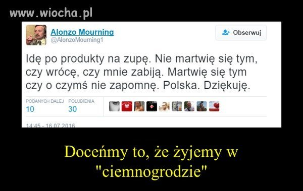 "Polski ""ciemnogród""."