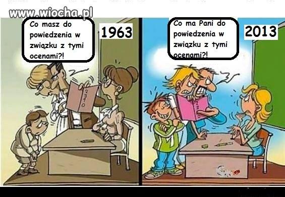 Co się zmieniło w szkołach przez ostatnie 50 lat